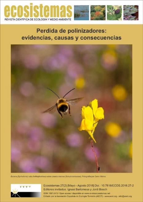 Loss of pollinators: evidences, causes and consequences